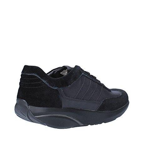 MBT Sneakers Hombre 42 EU Negro Textil Gamuza