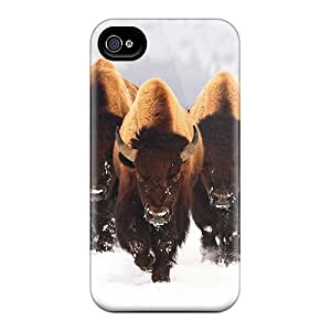 Iphone 6 Cases Covers - Slim Fit Protector Shock Absorbent Cases (buffalos)