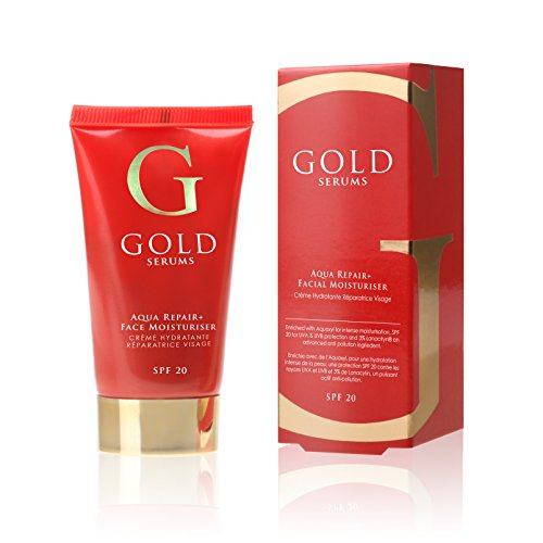 Gold Serums SPF 20 Aqua Repair Plus Facial Moisturizer, 50 G