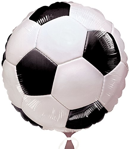 Soccer Foil Balloon [44 Pieces] *** Product Description: Soccer Foil Balloon. Includes 18'' Balloon.Weight (Lbs): 0.02Dimensions: 11 X 8 X 0.25Color: Nasize: Namaterial: Plastic-Petcare Instructions: Naoccasion: Birthday ***