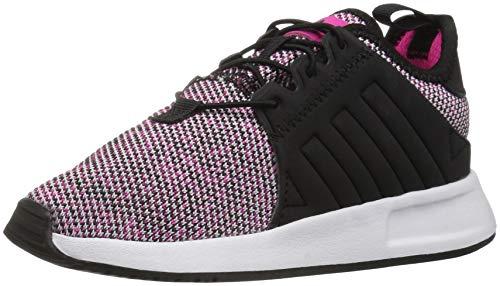 adidas Originals Baby X_PLR EL Running Shoe, Shock Pink/Blac