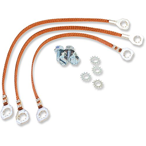 Eckler's Premier Quality Products 50204303 Chevelle Ground Wire Strap Kit Small Or Big Block ()