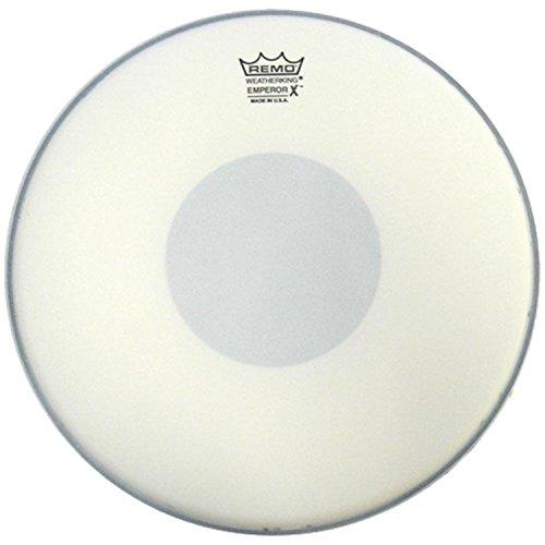 Remo Emperor X Coated Snare Drum Head - 14 (Black Tom Drum Head)