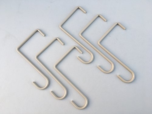 Fascia Hanger Adobe 6pack for Non-Insulated Patio Covers. 3 5/8