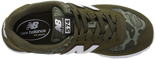 Balance Homme Ml574v2Baskets Dark New Triumph 4Rj3A5L