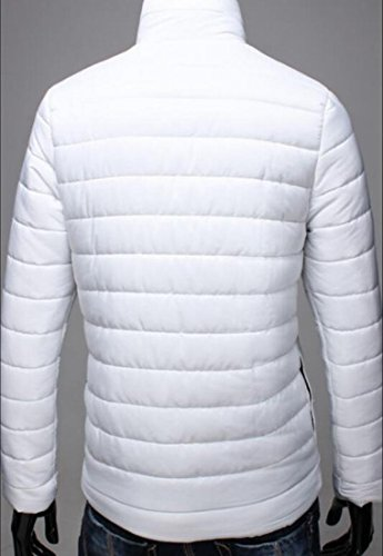 Coat Down UK Zipper White Winter Brd Lightweight Puffer Down Hot Waterproof Men Jacket BqPw1O