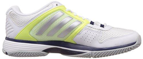 Blanc Team Barricade Chaussures Femme matte Silver Adidas 4 De F15 midnight Indigo white Tennis wTqtZ05