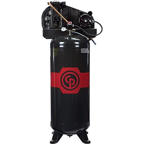 - Chicago Pneumatic Reciprocating Air Compressor - 3.5 HP, 60 Gallon, 208/230 Volt, 1-Phase, Model# - Air Chicago Compressor