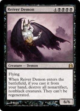 Magic: the Gathering - Reiver Demon - Commander