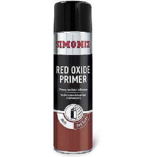 Holts LOYSIMP13D Simoniz Spray Paint, 500 ml, Red Oxide Primer