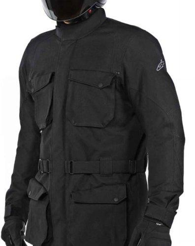 Alpinestars Mens Messenger Waterproof Motorcycle Jacket Black XXL 2XL
