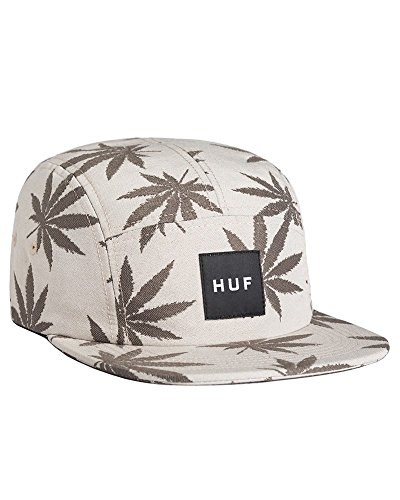 HUF Panel Jacquard Plantlife Volley Kaki