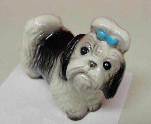 SHIH TZU Dog 'Mandy' Looks At You MINIATURE Figurine