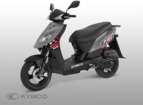 Kymco DJ 50 S - Maleta con ruedas (28 L), color gris: Amazon.es ...