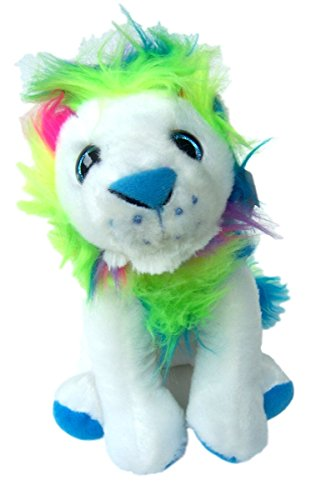 Petting Zoo Rainbow Maned Lion Plush Stuffed Animal Small