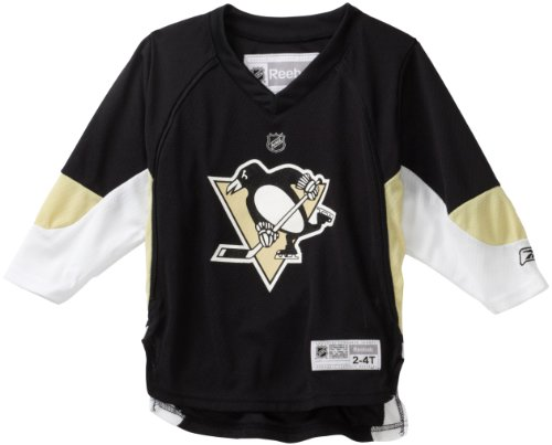 (NHL Toddler Pittsburgh Penguins Team Color Replica Jersey - R54Hwbpp (Black,)