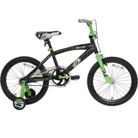 18 Next Surge Boys' BMX Bike, Black/Green by Next B01EHD8X7M