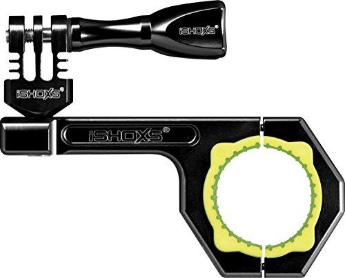Rollei Actioncam Halterung BullBar 34 - professionelle Fahrrad-Halterung für alle GoPro kompatiblen Actioncams (Klemmbereich: 30-34 mm), aus eloxiertem Aluminium - Schwarz
