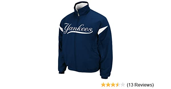 Amazon.com : Majestic MLB New York Yankees Triple Peak Premier Youth Jacket, Midnight Navy/White, Large : Sports Fan Outerwear Jackets : Sports & Outdoors