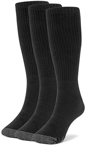 Galiva Girls Cotton Extra Soft Crew Cushion Socks - 3 Pairs