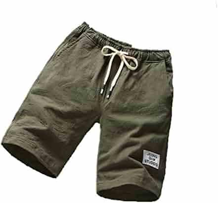 Mlide Drawstring Beach Shorts Pants,Mens Sports Breathable Fashion Pants Summer Fitness Running Pants