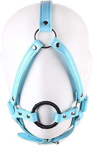 Tcouplesexy Yoga Saddlery ga,g Wrapped Ribbon Restraint mouthball Adjustable Roleing Prop Toy