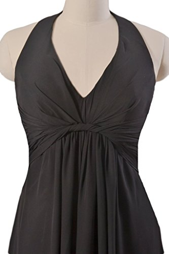 Dress Dress Dress Party Lady Scarlet BM414 Dark Chiffon Halter Long 10 DaisyFormals x50WaqXwn