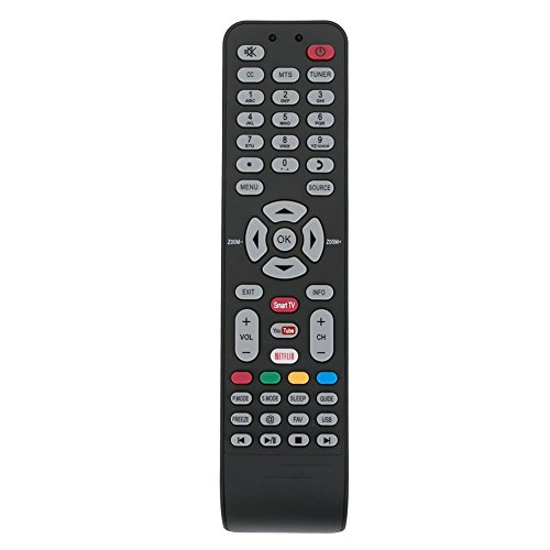 X490007 Remote Control Applicable for Hitachi LED LCD HDTV Smart TV LE32M4S9 LE48M4S9 LE43M4S9 (Tv Hitachi)