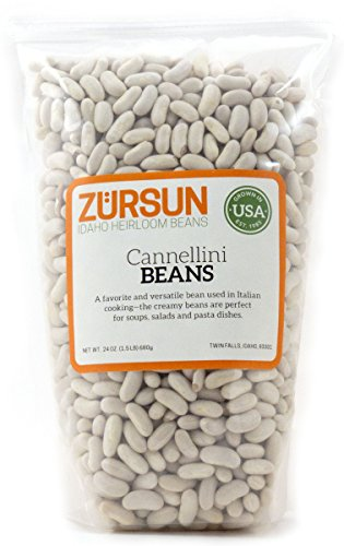 Zursun Heirloom Dry Cannellini Beans 24 oz
