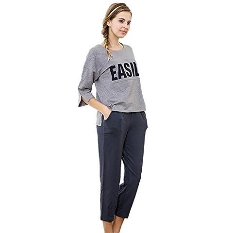 DMMSS Women 's Flannel Bathrobe Long - sleeved Round Neck