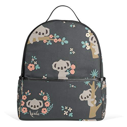 Backpack Cute Koala Schoolbag 1-3th Grade for Boys Teen Girls Kids
