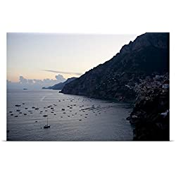 Great BIG Canvas Poster Print entitled Positano, Amalfitan coast