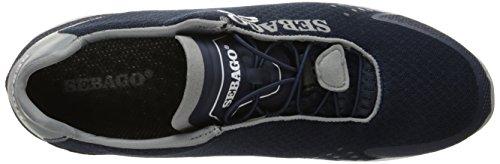 Sebago Cyphon Sea Sport - Náuticos de Material Sintético para hombre Navy / grey