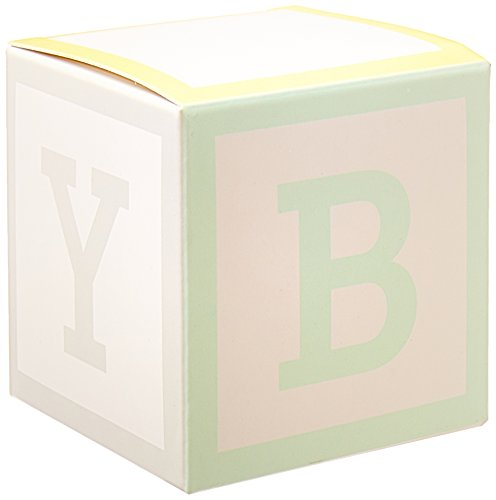 Kate Aspen 28305NA Baby Blocks Favor Box (Set of 24)]()