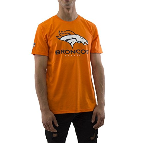 T Homme Denver Orange New Nfl Dryera Broncos shirt Era q6X7H