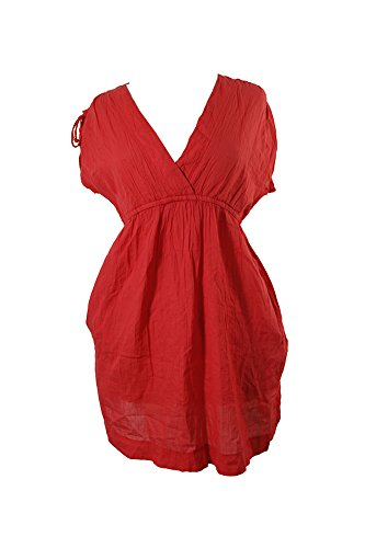 Lauren Ralph Lauren Crushed Farrah Swim Cover-Up Dress - Outlet Womens Lauren Ralph