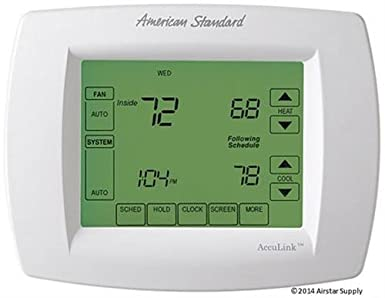 american standard acont900ac43uaa acont900 acculink communicating rh amazon com American Standard Nexia Acculink Thermostat