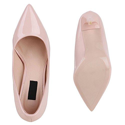 Stiefelparadies Women's Hi-Top Slippers Pink kk7nu