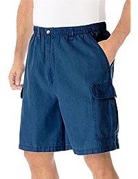 "Knockarounds 8"" Cargo Shorts, Stonewash Big-2Xl"