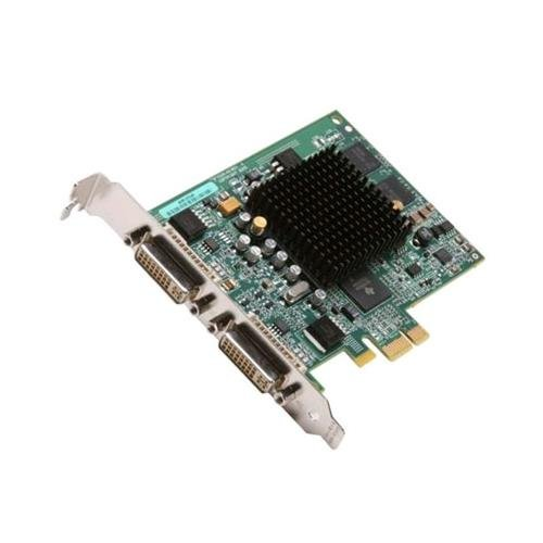 Matrox G55-MDDE32F Millennium G550 Video Card, PCI-Express x1, 32MB DDR, 2x DVI
