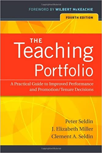 Image result for The Teaching Portfolio: A Practical Guide to Improved Performance and Promotion/Tenure Decisions by Peter Seldin