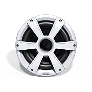 Fusion Entertainment SG-SL10SPW 450W Sports Marine Subwoofer with LED, White, 10""