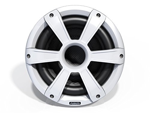 Marine Subwoofer Driver (Fusion Entertainment SG-SL10SPW 450W Sports Marine Subwoofer LED, White, 10