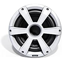 Fusion Entertainment SG-SL10SPW 450W Sports Marine Subwoofer with LED, White, 10
