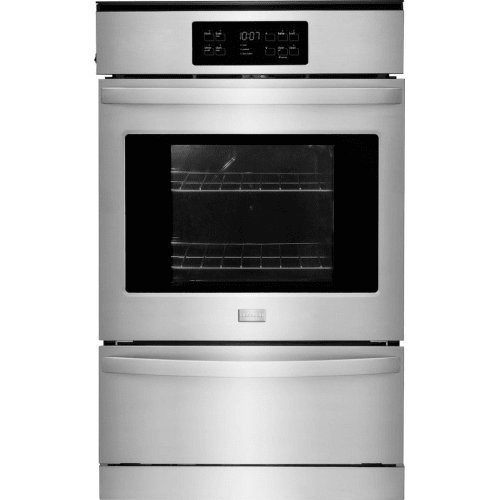 Frigidaire 24″ Stainless Steel Single Gas Wall Oven FFGW2425QS