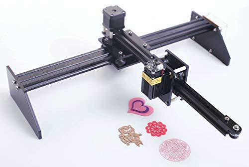 DIY CNC XY Plotter High Precision-Painting Handwriting Robot Kit 500MW / 2500MW Laser Module Working area 20cmx39cm (500MW) -