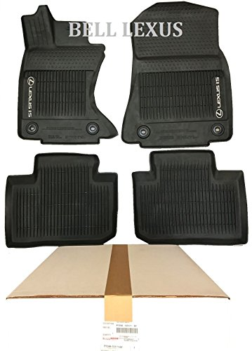 (Lexus OEM FACTORY ALL WEATHER FLOOR MAT LINER SET 14-18 IS350 IS250 IS300 AWD)