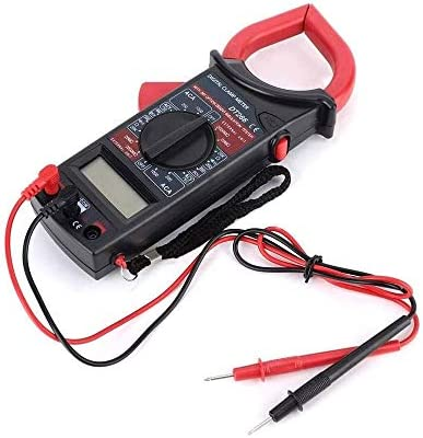 LMCLJJ Digital Multimeter & Clamp Meter & Test Leads Bundle, with LCD Display Voltage &Current Tester Resistance Detect