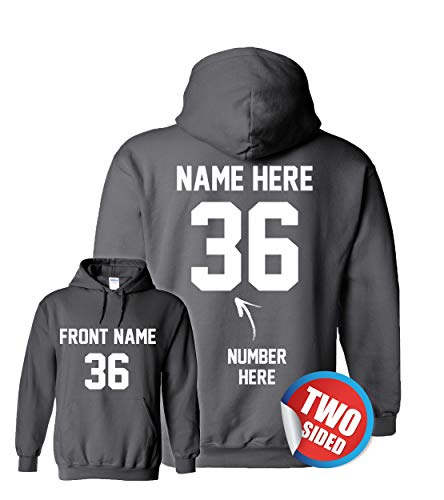 Custom Hoodies for Youth - Hooded Sweatshirts - Personalized Hoodys for -