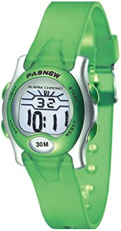 Boys waterproof night electronic watches-A